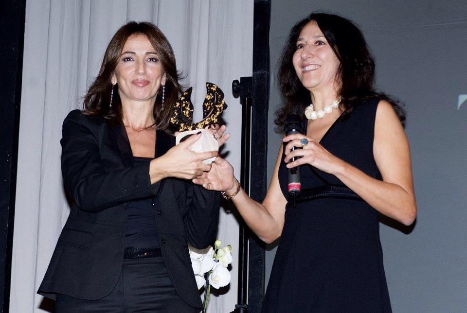 Farian e Tiziana Panella_Premio Margutta_3 dicembre 2014_Roma